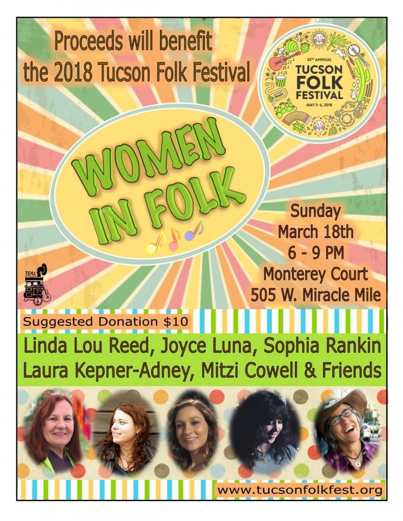 Women in Folk 3.18.2018 (Monterey Court)