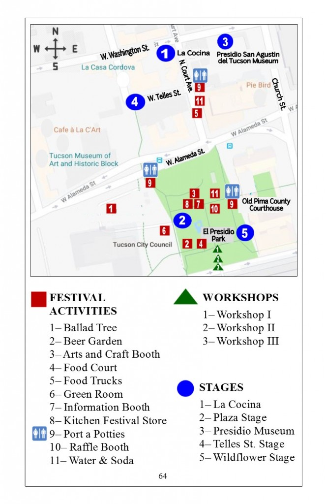2018 TFF Festival Map
