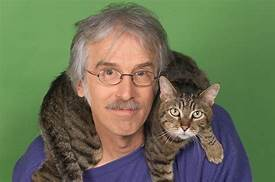 PETER ALSOP with cat