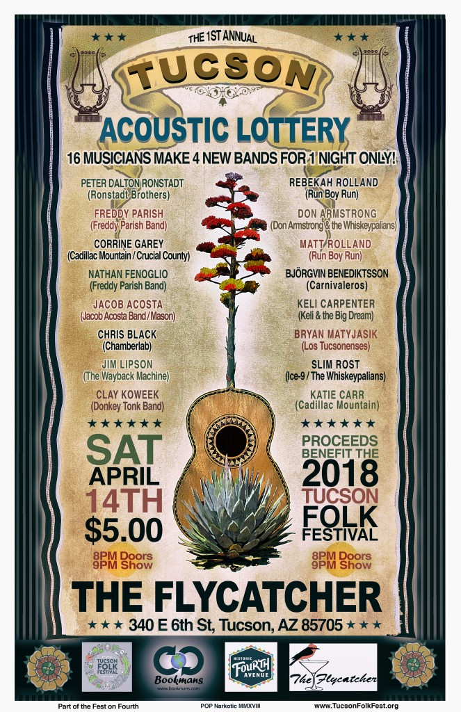 FOF Tucson Acoustic Lottery 2018 - Final